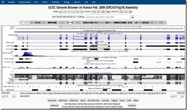 UCSC genome browser 3