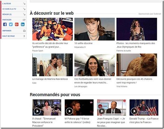 Le Figaro et Outbrain