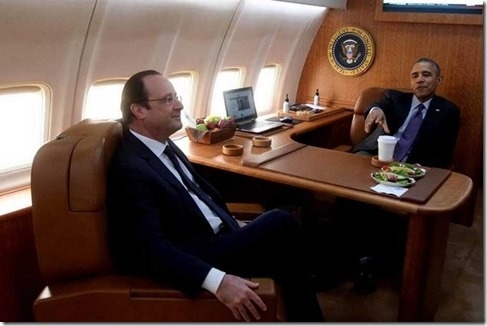 Hollande-Obama Fev2014 Source Elysee