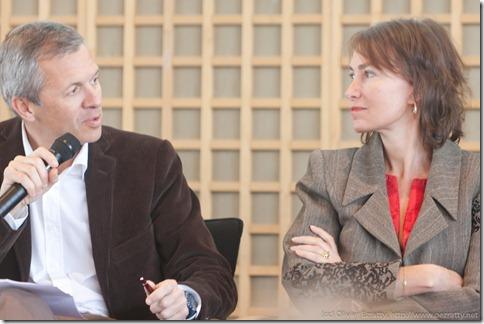 Frédéric Bedin et Marie-Laure Sauty de Chalon Mar2011