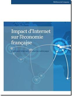 Rapport McKinsey Impact Economique Internet France Mars 2011