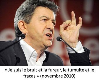 Melenchon Colere