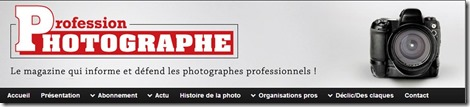 Site Profession Photographe