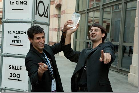 Kamel Zeroual and Gaël Delalleau (Stribe) (2)