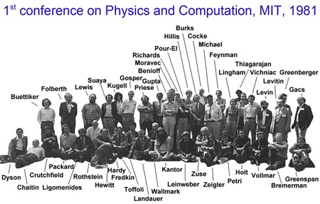 1981 MIT Conference on Physics and Computation