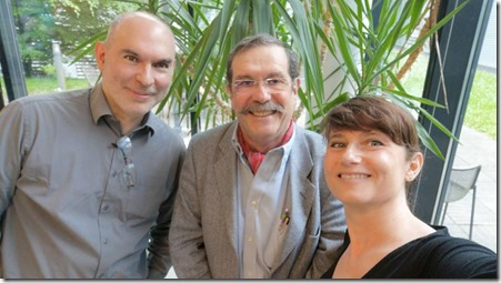 Alain Aspect Fanny Bouton et Olivier Ezratty mai 2018