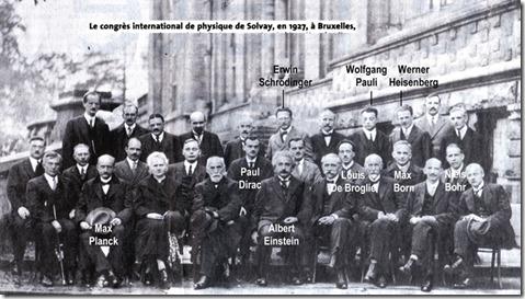 Congres de Solvay Bruxelles 1927