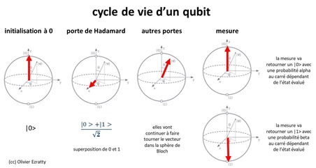 Cycle vie qubit