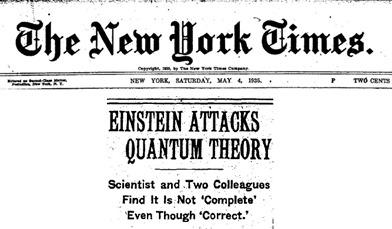 Einstein et quantique