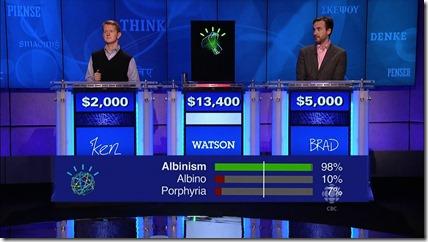 Watson vs Jeopardy 2011