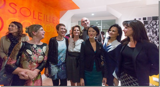 Les Soleilles Cowork Olivier Ezratty et Fleur Pellerin
