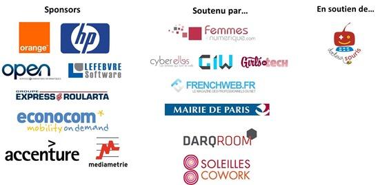 Sponsors et partenaires Quelques Femmes du Numerique