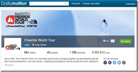DailyMotion Freeride World Tour