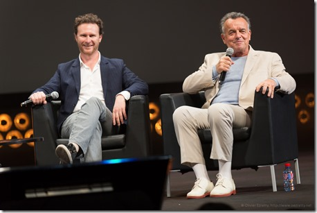 Tim Piper (Piro) and Ray Wise (actor) (1)