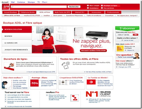 Home Page SFR