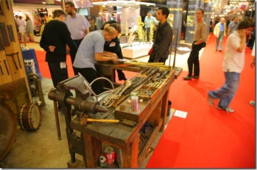 Atelier de fabrication d'instrument à vent