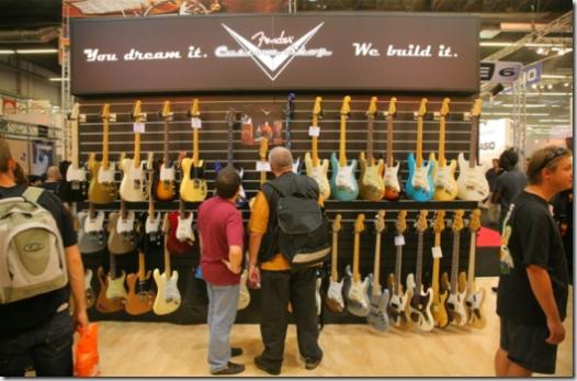 Choix de guitare chez un seul fabricant