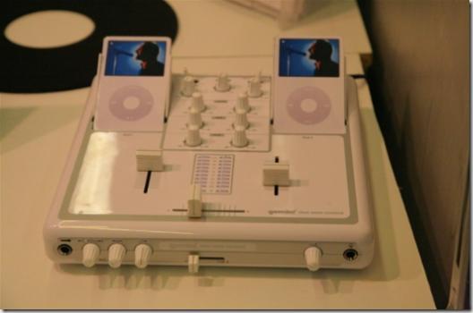 Table de mixage pour iPod