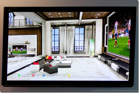 Interface Kinect CanalSat