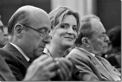 Nathalie Kosciusko-Morizet, Alain Juppé et Michel Rocard 2009