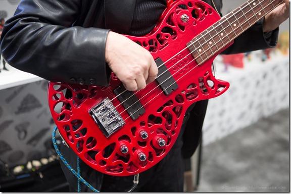 Guitare imprimée avec Cubify