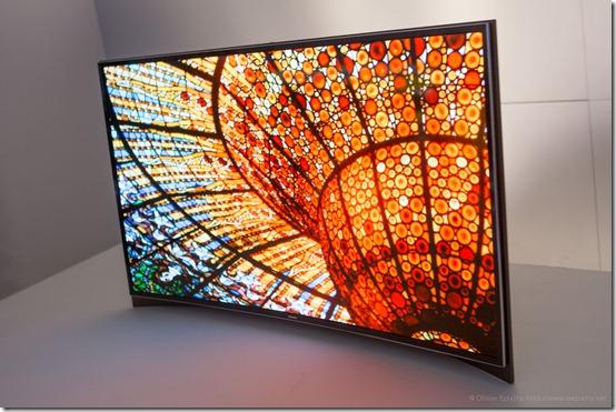 OLED Incurvé Samsung