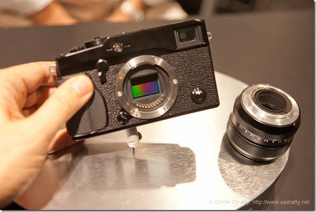 Fuji Pro-X1 CES 2012