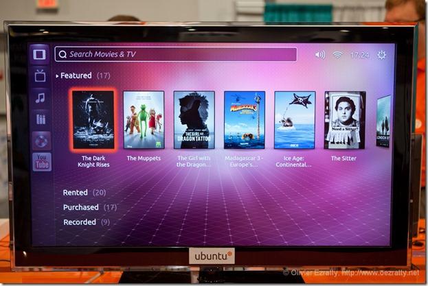 Ubuntu TV CES 2012