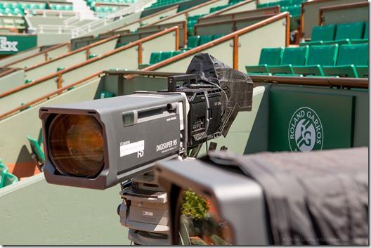 Caméra ForA 4K Ralenti du Court Chatrier (1)