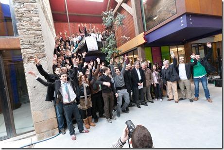 Equipes au complet du Startup Weekend Nantes Feb2011 (1)