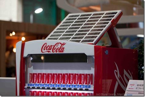 Distributeur Coca Cola Energie Solaire (1)