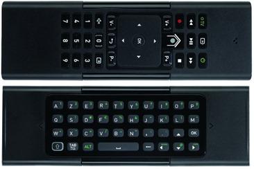 Télécommande biface clavier Numericable