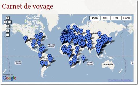 Carnet de Voyage Anne-Marie Idrac
