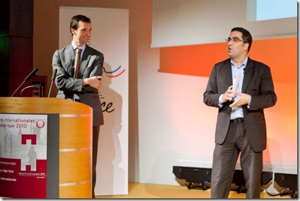 Henri Baissas et Richard Gomes Ubifrance Oct2010