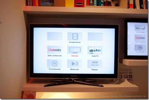 Deport Interface Neufbox Evolution sur TV Connectee Samsung (2)