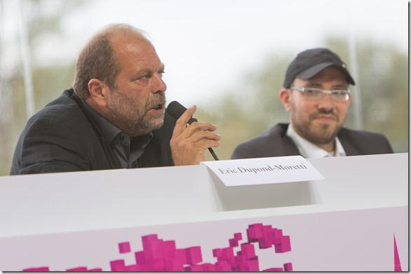 Eric Dupont-Moretti et Jeremie Berrebi (2)