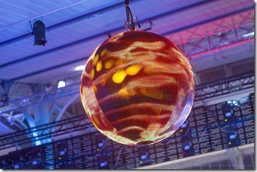 Boule LED