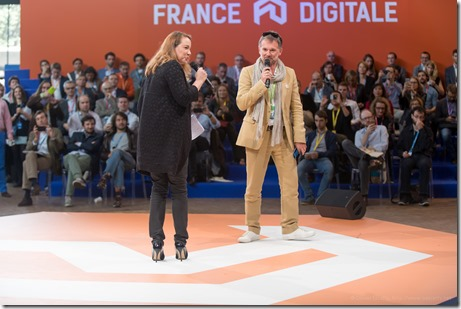 Axelle Lemaire et Olivier Mathiot