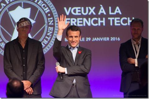 Emmanuel Macron et Matts Garduner (8)