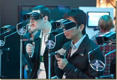 Lunettes 3D chez Panasonic