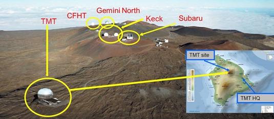 Mauna Kea site and TMT