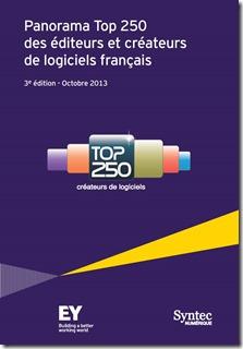 Panorama Top 250 Editeurs de logiciels francais EY
