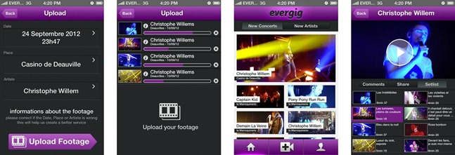 Evergig iOS Application