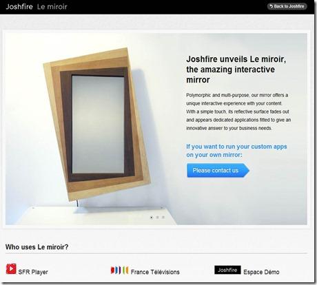 JoshFire Le Miroir