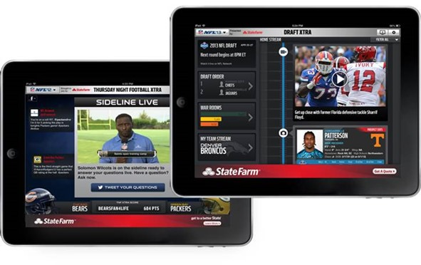 NFL Visiware Second Screen Application 2
