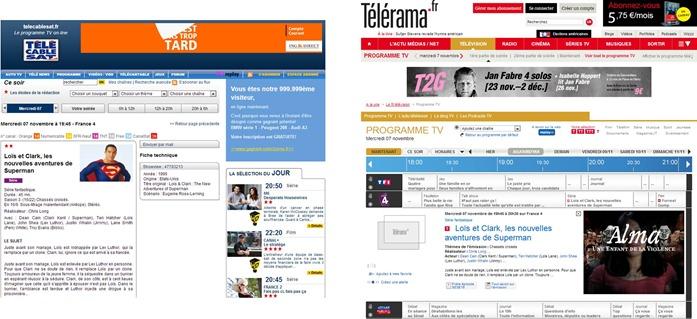 Telerama TeleCableSat EPG