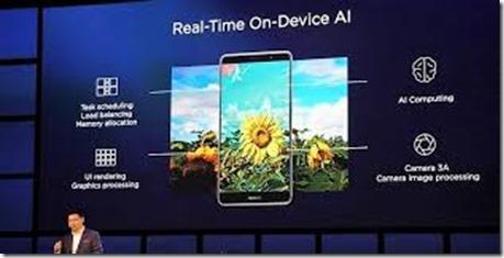 Huawei Kirin 970 Usages
