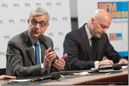 Hervé Maurey (Sénat) et Pierre Louette (France Telecom) (2)