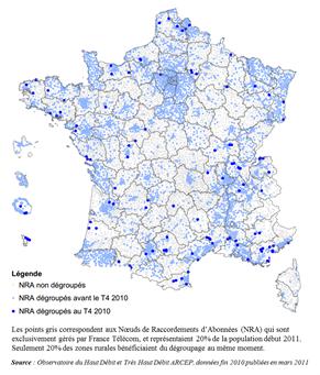 NRA en France 2011