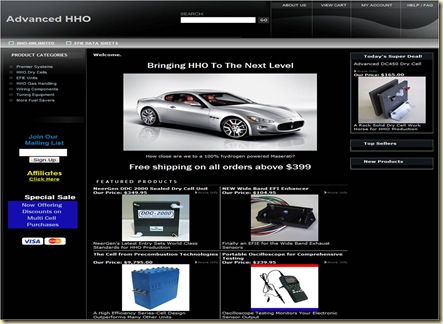 Advanced HHO Site Web